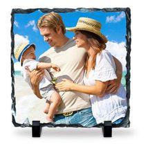 Ardoise carrée personnalisée photo