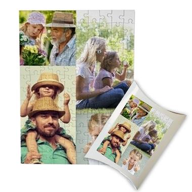 Puzzle multi image