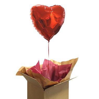 Ballon Cœur à l\'hélium