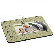Tapis de souris calendrier personnalisé photo