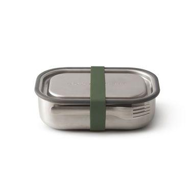 Lunch box acier vert olive