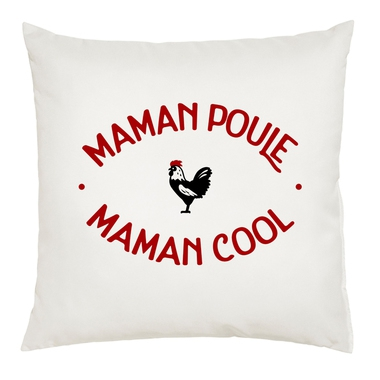 Coussin Maman poule Maman cool