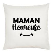 Coussin Maman heureuse