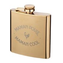 Flasque dorée Maman Poule Maman Cool