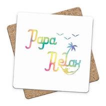 Sous-bock Papa Relax