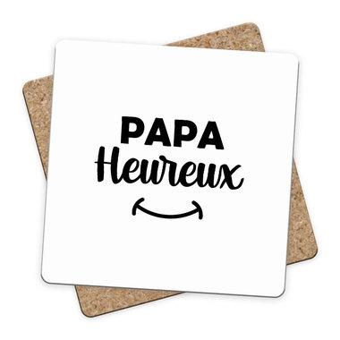 Sous-bock Papa Heureux