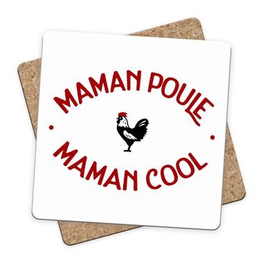 Sous-bock Maman Poule Maman Cool