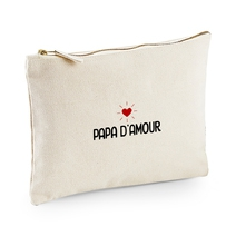 Pochette multi-usages Papa d'amour