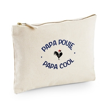 Pochette multi-usages Papa Poule - Cool