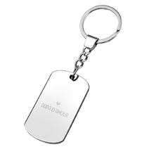Porte clés plaque papa d'amour