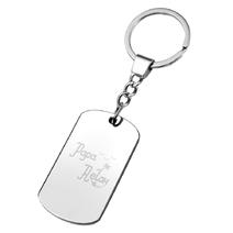 Porte clés plaque papa relax