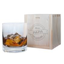 Verre à whisky Elu papa de l'année