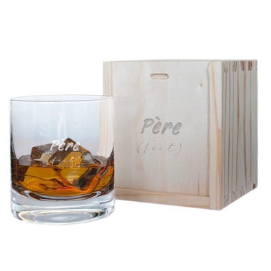 Verre à whisky Père (fect)