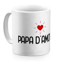 Mug blanc papa d'amour