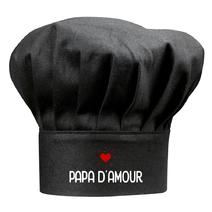Toque noire papa d'amour