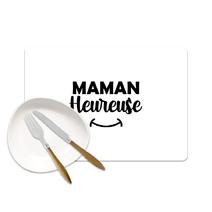 Set de table Maman heureuse