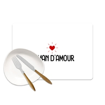 Set de table Maman d'amour