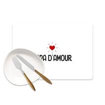 Set de table Papa d'amour