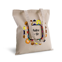 Tote bag maître en or