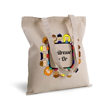 Tote bag maîtresse en or