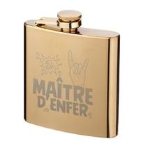 Flasque dorée Maître d'Enfer