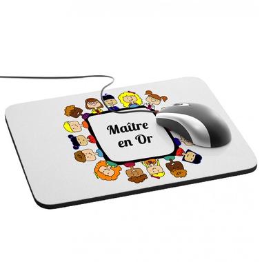 Tapis de souris Maître en or