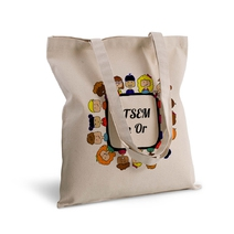 Tote bag deluxe ATSEM en or