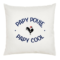 Coussin Papy Poule Papy Cool