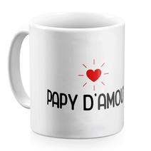 Mug papy d'amour blanc