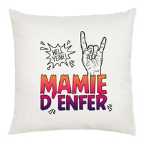 Coussin Mamie d'Enfer