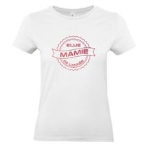 T-shirt blanc Mamie de l'année