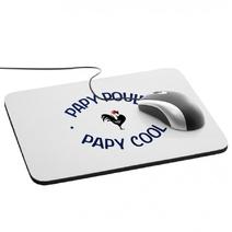 Tapis de souris Papy poule