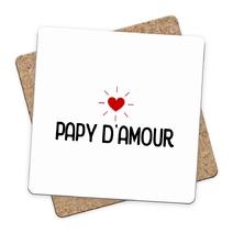 Sous-bock papy d'amour