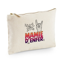 Pochette multi-usage beige Mamie d'Enfer