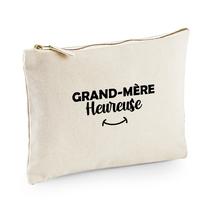 Pochette multi-usage beige Grand-mère heureuse