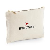 Pochette multi-usage beige Mamie d'amour