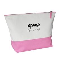 Grande trousse bicolore rose Mamie (fique)