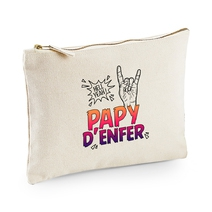 Pochette multi-usages papy d'enfer beige