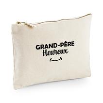 Pochette multi-usage grand-père heureux beige