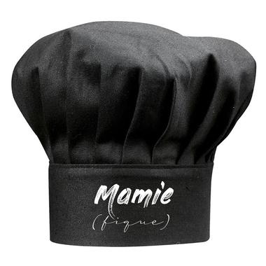 Toque noire Mamie (fique)