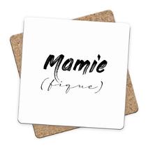 Sous-bock Mamie (fique)