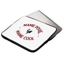 Housse ordinateur ou tablette Mamie Poule Mamie Co