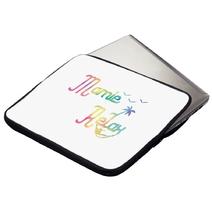 Housse ordinateur ou tablette Mamie Relax