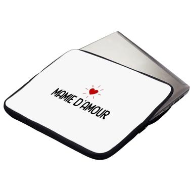 Housse ordinateur ou tablette Mamie d'amour