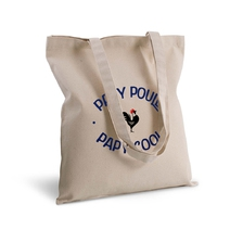 Tote bag deluxe papy poule