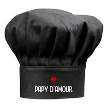 Toque noire papy d'amour