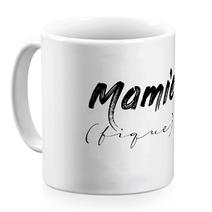 Mug céramique blanc Mamie (fique)