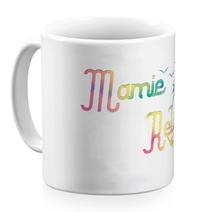 Mug céramique blanc Mamie Relax