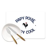 Set de table papy poule