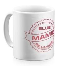 Mug céramique blanc Mamie de l'année